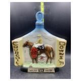 Kentucky straight bourbon whiskey decanter -