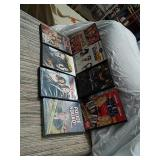 Lot of  8 DVDs