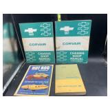 Corvair 1967-68 shop manuals and more