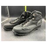 Black timberland shoes- can
