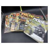 Rider magazines