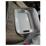 Pampered chef large serving dish