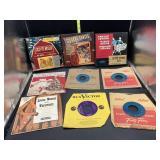 Lot of 45s vinyl records