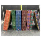 Harry Potter book set - years 1-7