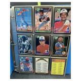 Misc baseball cards
