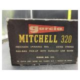 Garcia mitchel 320 fishing reel - missing handle
