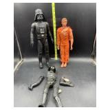 The six million dollar man and Star Wars action