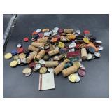 Wine bottle corks and lids