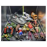 Toys!! Action figures, transformers, and more