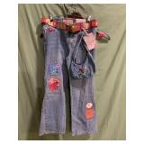 Girls jeans new with tags size 10 1/2 plus