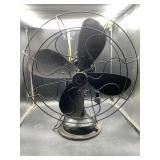 Black vintage fan - works
