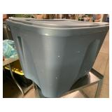 18 gallon? storage tote with lid