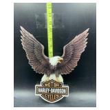 Harley Davidson eagle wooden sign