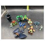 Misc small action figures