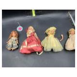 Porcelain story book dolls - USA