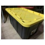 27 gallon storage tote with lid