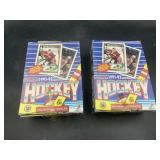 2 hockey 1991-92 card box  - unopened - 36 count