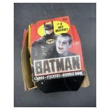 Batman topps cards - 9 cards in each pack
