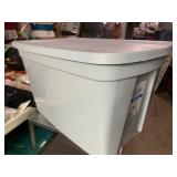 18 gallon storage tote with lid