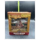 Red man golden blend canister in original box