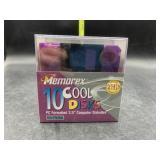 New Memorex 10 cool disks