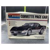 Corvette pace car 1/24 scale model kit