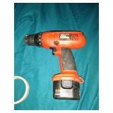 Black & Decker Firestone 9.6v power drill