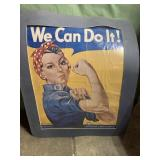 We can do it poster 25x30in