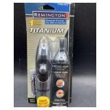 Remington titanium wet/dry personal trimmer