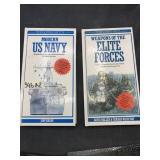 Military books hardback