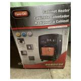 Cabinet heater - propane