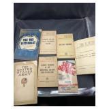 Old war books 1957,1944 etc
