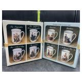 2 sets of Norman Rockwell mugs