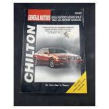 Chilton car manual 1990-1998 repair manual