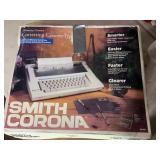 Smith corona correcting cassette typewriter