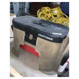 Craftsman Toolbox Seat with Reel Extension Cord