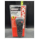 Magnavox universal remote