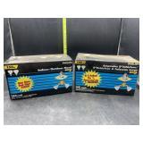 Indoor/outdoor flood lights 2 in each box