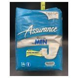 Assurance guard for men 14 count
