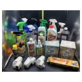Misc cleaning supplies