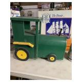 Tractor mail boxes 19 inches long 16 inches tall