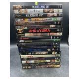 19 dvds