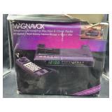 Magnavox telephone/answering machine clock &