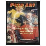 Pulp Art by Robert Lesser 1997 copyright hardback
