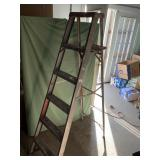 6ft aluminum folding ladder