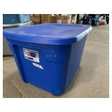 Sterilite 18 gallon tote with lid
