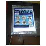 New 9ft by 12ft medium duty tarp