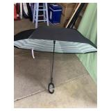 New striped inverted umbrella - 4ft