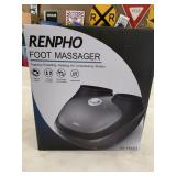 New renpho foot massager- tapping,kneading,