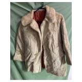 Ladies fur coat size 14